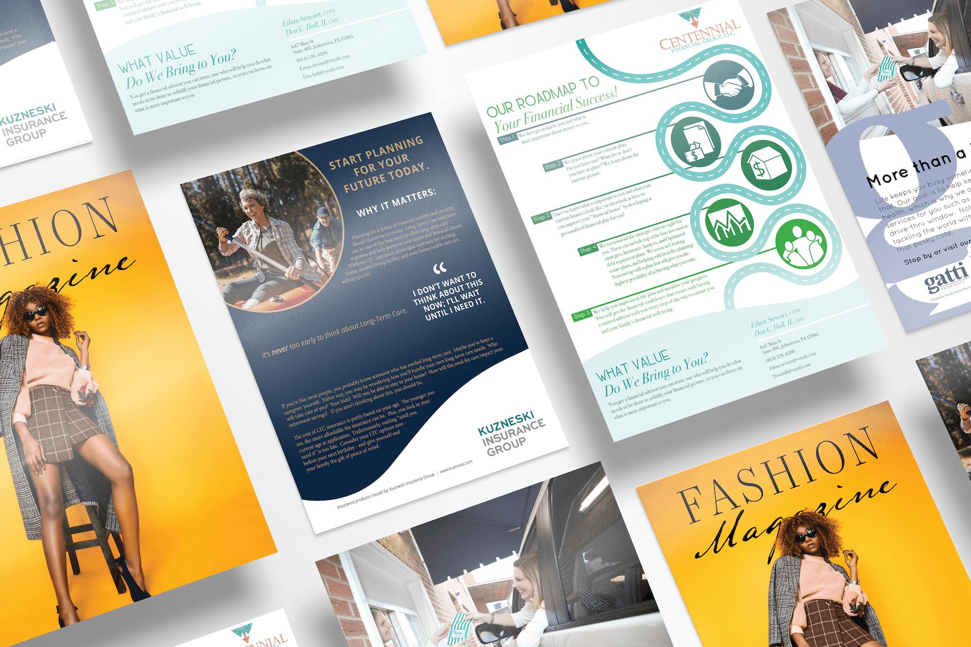 JC Design and Media flyer design
