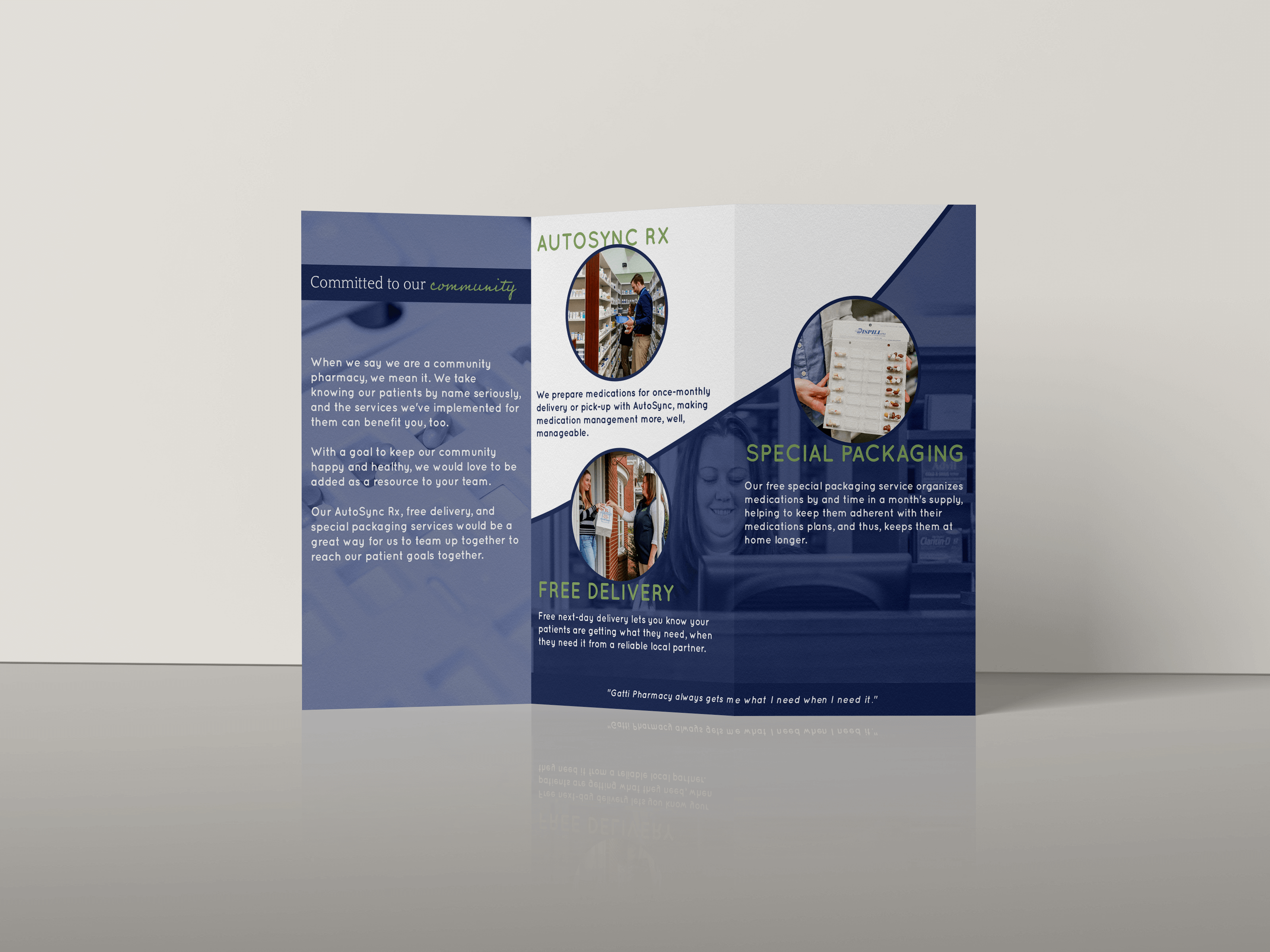 brochure design by JC Design and Media