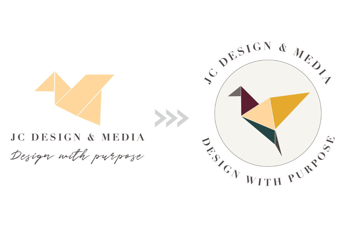 how the brand values are reflected through the logo design